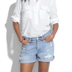 30% off🌞Madewell boyfriend jean shorts
